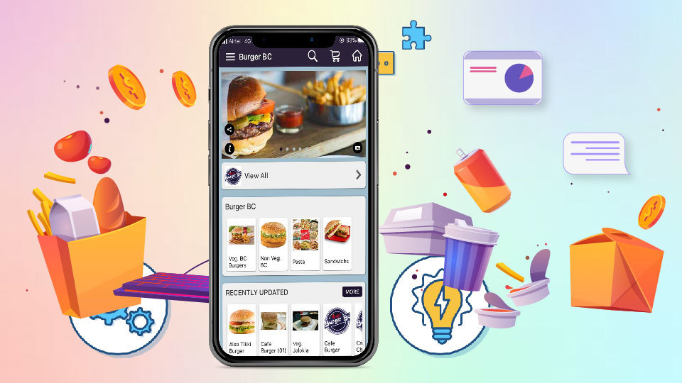 Self-Ordering-App Food Court App